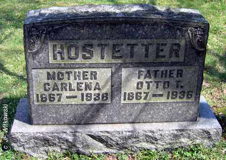 HOSTETTER, OTTO T. - Washington County, Ohio | OTTO T. HOSTETTER - Ohio Gravestone Photos