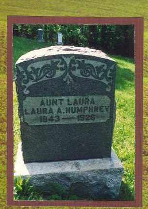 HUMPHREY, LAURA A. - Washington County, Ohio | LAURA A. HUMPHREY - Ohio Gravestone Photos