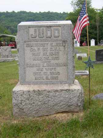 JUDD, CHAUNCEY - Washington County, Ohio | CHAUNCEY JUDD - Ohio Gravestone Photos