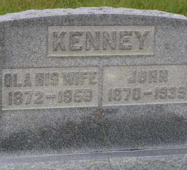 KENNEY, OLA - Washington County, Ohio | OLA KENNEY - Ohio Gravestone Photos