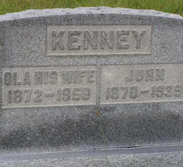 KENNEY, JOHN - Washington County, Ohio | JOHN KENNEY - Ohio Gravestone Photos
