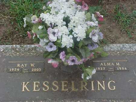 KESSELRING, ALMA - Washington County, Ohio | ALMA KESSELRING - Ohio Gravestone Photos