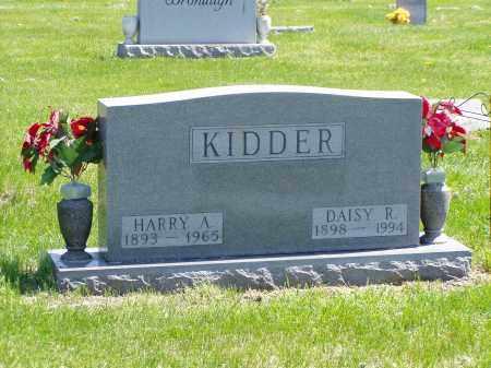 KIDDER, HARRY A. - Washington County, Ohio | HARRY A. KIDDER - Ohio Gravestone Photos