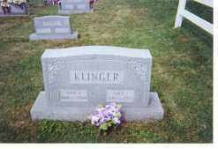 KLINGER, ALICE L - Washington County, Ohio | ALICE L KLINGER - Ohio Gravestone Photos