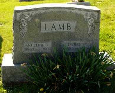 LAMB, IRVILLE - Washington County, Ohio | IRVILLE LAMB - Ohio Gravestone Photos