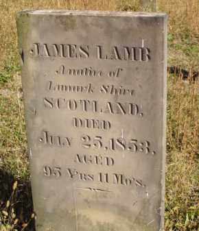 LAMB, JAMES - Washington County, Ohio | JAMES LAMB - Ohio Gravestone Photos