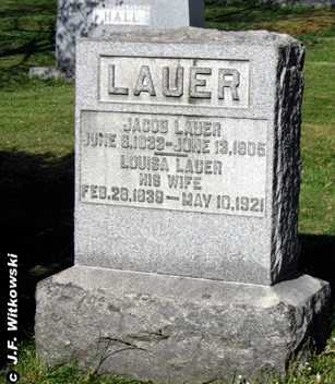 GILCHER LAUER, LOUISA - Washington County, Ohio | LOUISA GILCHER LAUER - Ohio Gravestone Photos