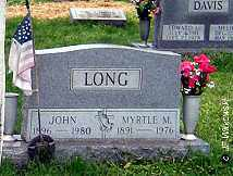 LONG, JOHN - Washington County, Ohio | JOHN LONG - Ohio Gravestone Photos