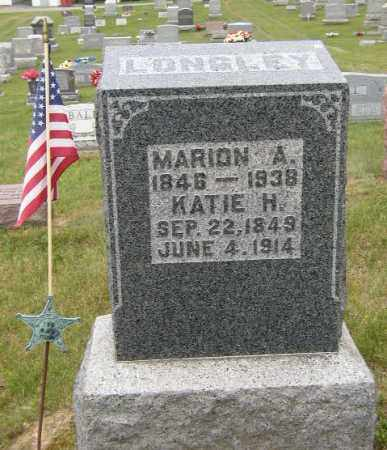 LONGLEY, KATIE - Washington County, Ohio | KATIE LONGLEY - Ohio Gravestone Photos
