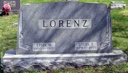 LORENZ, LOUIS T. - Washington County, Ohio | LOUIS T. LORENZ - Ohio Gravestone Photos