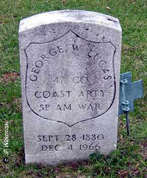 LUCAS, GEORGE W. - Washington County, Ohio | GEORGE W. LUCAS - Ohio Gravestone Photos