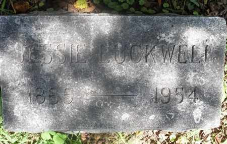 LUCKWELL, JESSIE - Washington County, Ohio | JESSIE LUCKWELL - Ohio Gravestone Photos