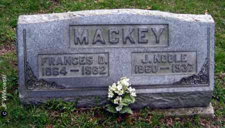 MACKEY, FRANCES D. - Washington County, Ohio | FRANCES D. MACKEY - Ohio Gravestone Photos