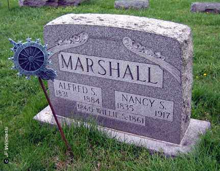 MARSHALL, ALFRED S. - Washington County, Ohio | ALFRED S. MARSHALL - Ohio Gravestone Photos