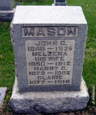 "MASON, MELZENA ""ZENA"" - Washington County, Ohio 