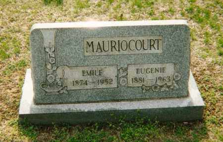 MAURIOCOURT, EUGENIE - Washington County, Ohio | EUGENIE MAURIOCOURT - Ohio Gravestone Photos