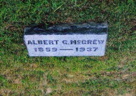 MCGREW, ALBERT GILBERT - Washington County, Ohio | ALBERT GILBERT MCGREW - Ohio Gravestone Photos