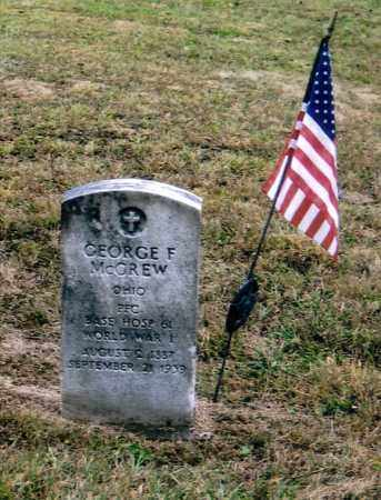 MCGREW, GEORGE FINLEY - Washington County, Ohio | GEORGE FINLEY MCGREW - Ohio Gravestone Photos