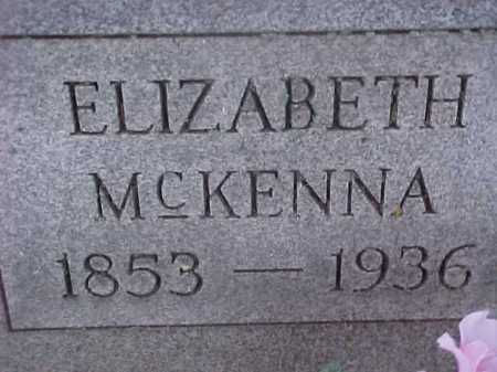 SUDER MCKENNA, ELIZABETH - Washington County, Ohio | ELIZABETH SUDER MCKENNA - Ohio Gravestone Photos