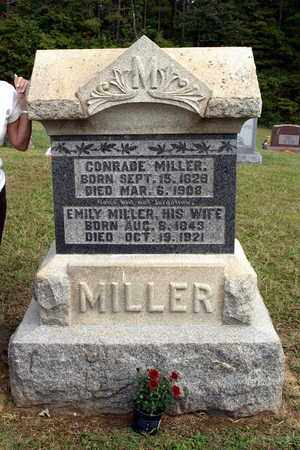 MILLER, EMILY - Washington County, Ohio | EMILY MILLER - Ohio Gravestone Photos
