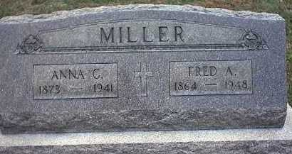 MILLER, ANNA C. - Washington County, Ohio | ANNA C. MILLER - Ohio Gravestone Photos