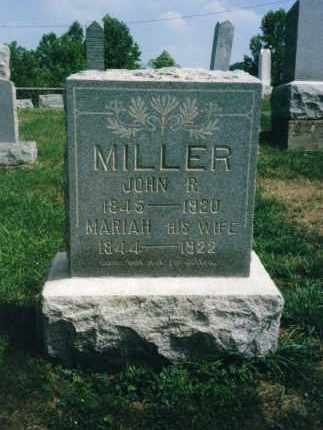 DEARTH MILLER, MARIAH - Washington County, Ohio | MARIAH DEARTH MILLER - Ohio Gravestone Photos