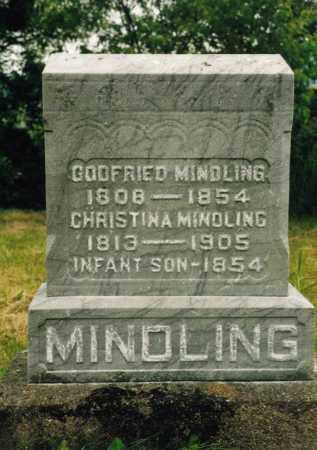 MINDLING, CHRISTINA - Washington County, Ohio | CHRISTINA MINDLING - Ohio Gravestone Photos