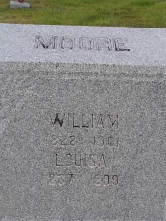 MOORE, WILLIAM - Washington County, Ohio | WILLIAM MOORE - Ohio Gravestone Photos