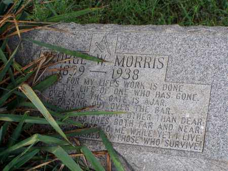 MORRIS, GEORGE W. - Washington County, Ohio | GEORGE W. MORRIS - Ohio Gravestone Photos