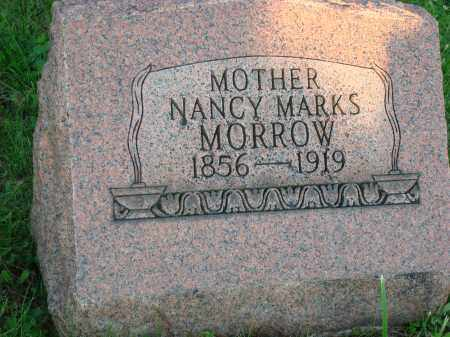 MORROW, NANCY - Washington County, Ohio | NANCY MORROW - Ohio Gravestone Photos