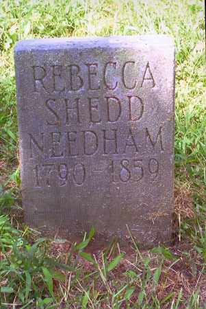 NEEDHAM, REBECCA - Washington County, Ohio | REBECCA NEEDHAM - Ohio Gravestone Photos