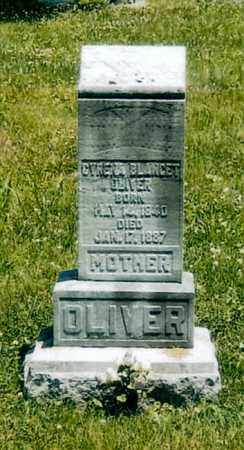 BLANCET OLIVER, CYRENA - Washington County, Ohio | CYRENA BLANCET OLIVER - Ohio Gravestone Photos