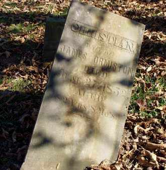 ORMISTON, CHRISTIAN - Washington County, Ohio | CHRISTIAN ORMISTON - Ohio Gravestone Photos