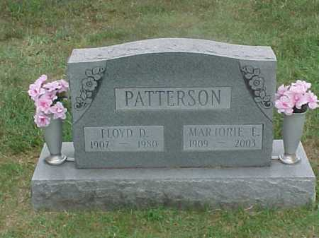 PATTERSON, MARJORIE - Washington County, Ohio | MARJORIE PATTERSON - Ohio Gravestone Photos
