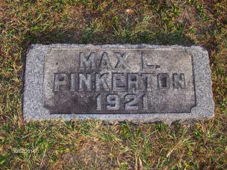 PINKERTON, MAX - Washington County, Ohio | MAX PINKERTON - Ohio Gravestone Photos
