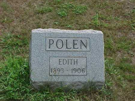POLEN, EDITH - Washington County, Ohio | EDITH POLEN - Ohio Gravestone Photos