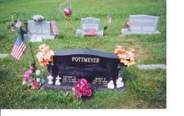 POTTMEYER, MARY F - Washington County, Ohio | MARY F POTTMEYER - Ohio Gravestone Photos