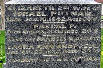 PUTNAM, PASCAL PAOLI - Washington County, Ohio | PASCAL PAOLI PUTNAM - Ohio Gravestone Photos