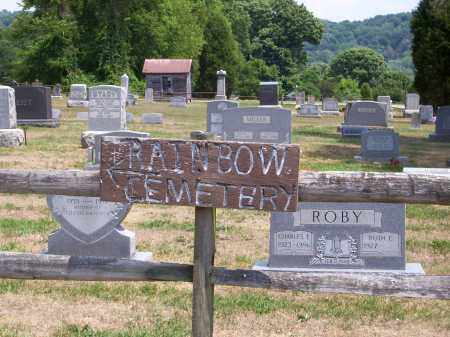 RAINBOW CEMETERY, SIGN - Washington County, Ohio | SIGN RAINBOW CEMETERY - Ohio Gravestone Photos