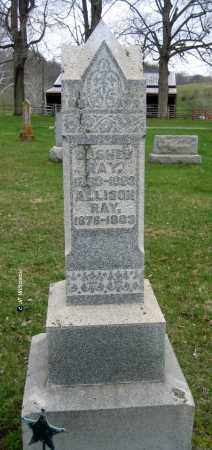 RAY, CASHES - Washington County, Ohio | CASHES RAY - Ohio Gravestone Photos