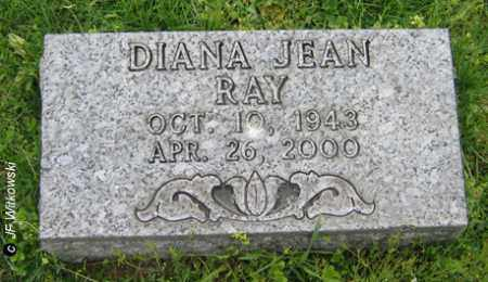 RAY, DIANA JEAN - Washington County, Ohio | DIANA JEAN RAY - Ohio Gravestone Photos