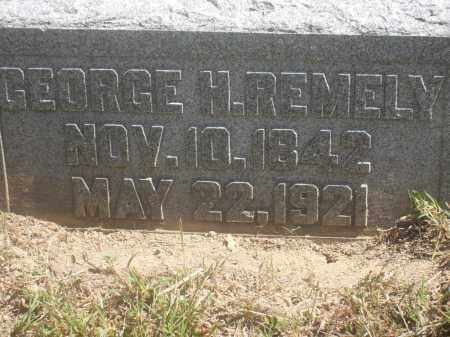REMELY, GEORGE H. - Washington County, Ohio | GEORGE H. REMELY - Ohio Gravestone Photos