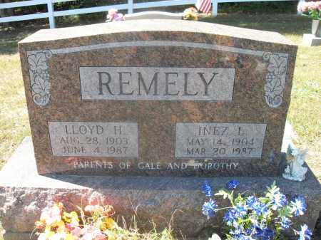 REMELY, INEZ L. - Washington County, Ohio | INEZ L. REMELY - Ohio Gravestone Photos