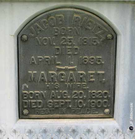 RIETZ, MARGARET - Washington County, Ohio | MARGARET RIETZ - Ohio Gravestone Photos