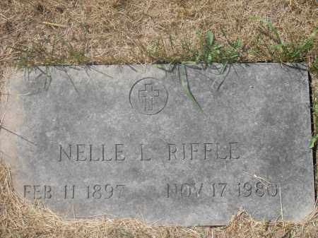 RIFFLE, NELLE L. - Washington County, Ohio | NELLE L. RIFFLE - Ohio Gravestone Photos