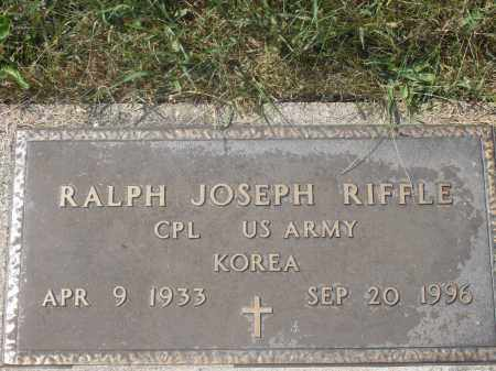 RIFFLE, RALPH JOSEPH - Washington County, Ohio | RALPH JOSEPH RIFFLE - Ohio Gravestone Photos