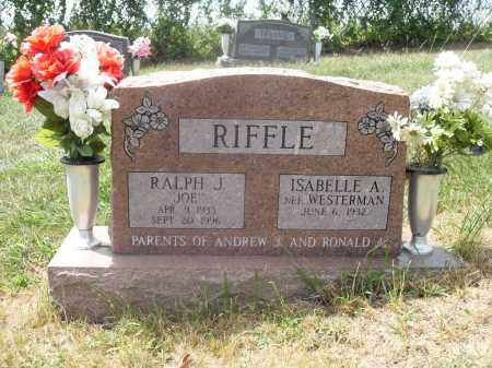 RIFFLE, RALPH J. AND ISABELLE A. - Washington County, Ohio | RALPH J. AND ISABELLE A. RIFFLE - Ohio Gravestone Photos