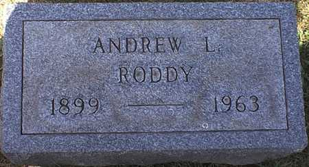 RODDY, ANDREW LEO - Washington County, Ohio | ANDREW LEO RODDY - Ohio Gravestone Photos