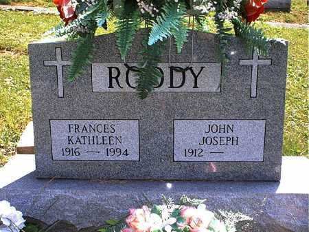 SHEETS RODDY, FRANCES KATHLEEN - Washington County, Ohio | FRANCES KATHLEEN SHEETS RODDY - Ohio Gravestone Photos