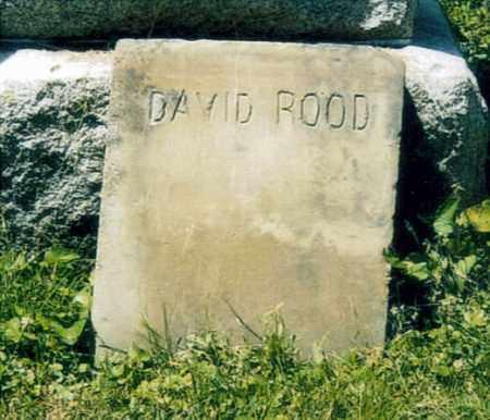 ROOD, DAVID - Washington County, Ohio   DAVID ROOD - Ohio Gravestone Photos